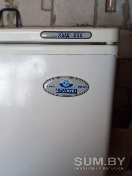 Холодильник Атлант кшд-256 б/у объявление продам