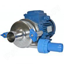 Насос молочный НМУ-10 с электродвигателем (метал. тарелка, метал. корпус, метал. крыльчатка) объявление продам