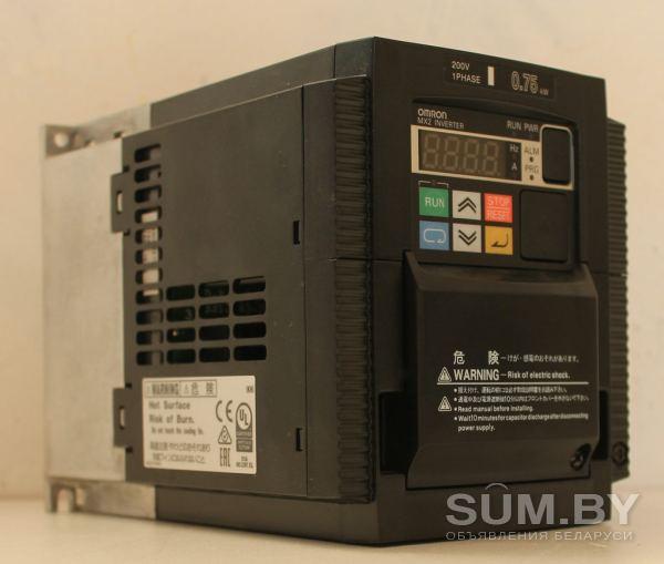Частотный преобразователь Omron для двигателей 0, 75 кВт объявление продам