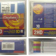 """Дискеты 3, 5""""(90 mm) DIGITEX 1, 44 Mb объявление продам"""