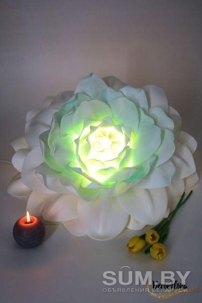 Настенный светильник -георгин объявление продам