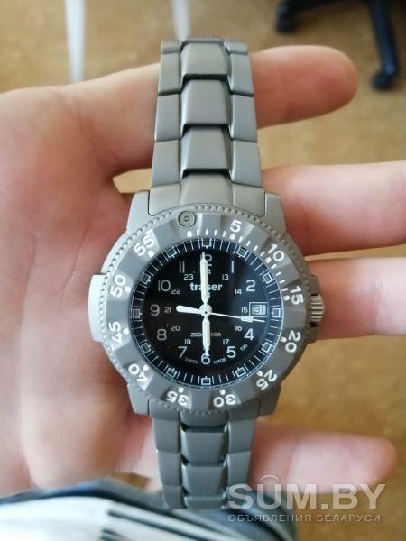 H3-Traser Traser специальные мужские часы 105485 аналоговый серебристый титан объявление продам