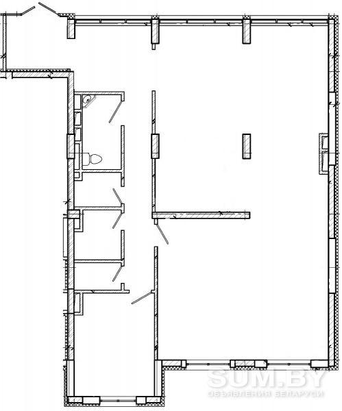 Новое помещение 150 м.кв. по ул.Воронянского, 40 от собственника в аренду объявление продам