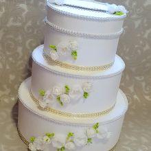 Свадебная коробка-торт для дарения объявление продам