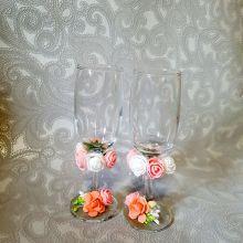 Свадебные бокалы объявление продам