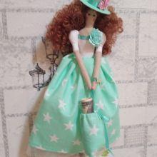 Интерьерная, денежная кукла объявление продам